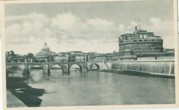 Roma; Castel S. Angelo Et Ponte Elio - Non Viaggiata. (Cesare Capello - Milano) - Castel Sant'Angelo