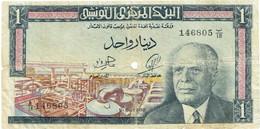 Tunisie - Billet De 1 Dinar - Habib Bourghiba - 1er Juin 1965 - P63a - Tusesië