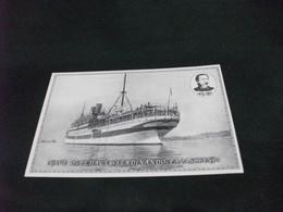 NAVE SHIP NAVIRE BOAT BATEAU OSPEDALE FERDINANDO PALASCIANO GENOVA CROCE ROSSA - Altri
