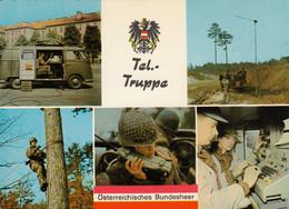 AK - Österreichisches Bundesheer - Tel.- Truppe - Andere