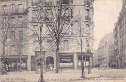 VIL- PARIS   CHAUSSEE DE LA MUETTE ET RUE FRANCOIS PONSARD   CPA  CIRULEE - Arrondissement: 16