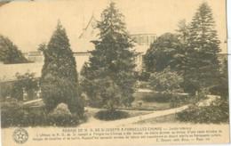 Forges-lez-Chimay 1928; Abbaye De N. D. De St Joseph (Jardin Intérieur) - Voyagé. (Desaix) - Chimay