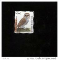 Belgie 2010 3983  MNH Buzin Birds Uil Owl  Onder Postprijs Faciaal !! - Ungebraucht
