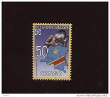 Belgie 4047 Belgian Congo Flag Map 2010  MNH - Ungebraucht