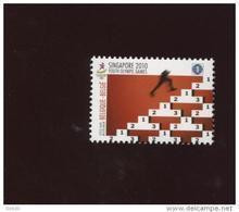 Belgie 4045 Singapore Youth Olympics 2010  MNH   Onder Faciaal Sous Faciale - Ungebraucht