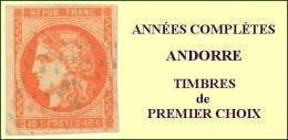 Andorre, Année Complète 1969, N° 194 à N° 200** Y Et T - Años Completos