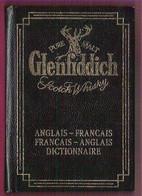 Mini Dictionnaire Publicitaire Scotch Whisky Glenfiddich  Français-Anglais English-French - Alcools