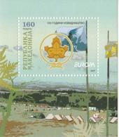 Leaflet - Europe 2007 - Scout - Flag - Macedonië