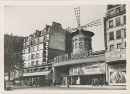 75018 PARIS Moulin Rouge CPSM Grand Format La Nuit Blanche - Arrondissement: 18