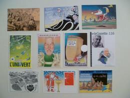 Lot De 10 Cartes Postales Illustrateur Bernard VEYRI / B - Veyri, Bernard