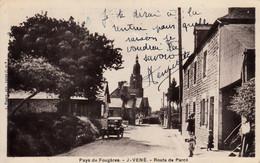 Thematiques 35 Ille Et Vilaine Javené Pays De Fougéres Route De Parcé - Other Municipalities