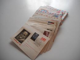 RUSSIE CCCP, IMPORTANT LOT DE 73 ENVELOPPES ET ENVOIS , PHILATELIE CCCP TOUS LES SCANS - Collections (without Album)