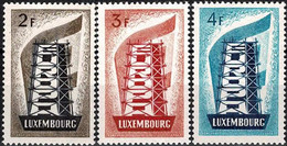 1956 Luxembourg, Luxemburg EUROPA, Série Neuf ** MNH Valeur Catalogue:200€ - Unused Stamps