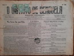Angola - Journal De Benguela 1923 - Angola