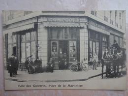 CPA 69 LYON Devanture Café Des Concerts Place De La Martinière - Très Beau Plan - Otros