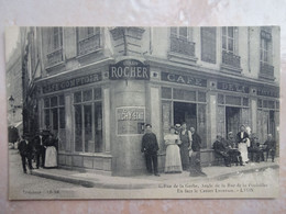 CPA 69 LYON Devanture Café De La Taverne - Très Beau Plan 6 Rue De La Gerbe - Otros