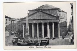 ROMA PANTHEON D' Agrippa (i Chioschetti) - Pantheon