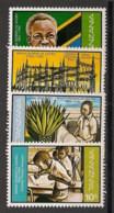 Tanzania - 1982 - N°Mi. 189 à 192 - Indépendance - Neuf Luxe ** / MNH / Postfrisch - Tanzania (1964-...)