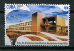 Cuba 2017 / High Education Las Villas University MNH Universidad Educación Superior / Cu7225  10-7 - Nuevos