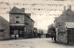 Thematiques 35 Ille Et Vilaine Balazé Le Haut Du Bourg Route De La Gare Cachet 1936 - Other Municipalities