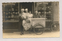 Oude Foto Postkaart. Deurne Patisserie- Confiserie GALLIFORTA 1928 (Patisserie André) - Antwerpen