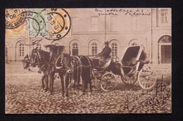 RUSSIE - Affranchissement De Odessa Sur Carte Postale ( Attelage De Chevaux )  En 1906 Pour La France - L 78902 - Storia Postale