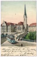 ZUERICH ZH 1903 Tram Nr. 62 - ZH Zurich