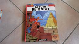 ALIX  LA TOUR DE BABEL      JACQUES MARTIN - Alix