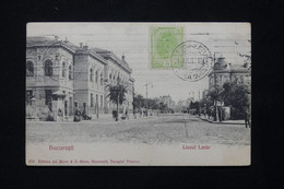 ROUMANIE - Affranchissement De Bucarest Sur Carte Postale En 1907 Pour La France - L 78906 - Briefe U. Dokumente