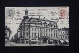 ROUMANIE - Affranchissement Recto Et Verso De Bucarest Sur Carte Postale En 1906 Pour La France - L 78907 - Briefe U. Dokumente