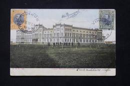 BULGARIE - Affranchissement De Sofia Sur Carte Postale En 1908 Pour La France - L 78908 - Covers & Documents