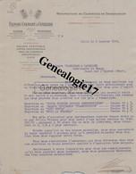 59 3994 LILLE Et TOURNAI NORD 1909 Manufacture Courroies Transmission FLINOIS COLMANT CUVELIER Quai Wault Et Bd Hainault - 1900 – 1949