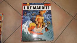 ALIX  L'ILE MAUDITE   JACQUES MARTIN - Alix