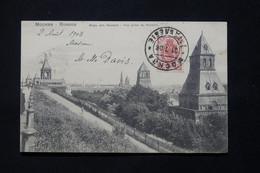 RUSSIE - Affranchissement De Moscou Sur Carte Postale En 1908 Pour La France - L 78912 - Storia Postale