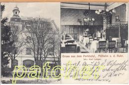 Mülheim/Ruhr, Parkhotel, Innenansicht, 1910 - Muelheim A. D. Ruhr