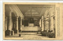 """CPA 44-Nantes Ancien- Etude Rétrospective  - """" Nef De L'Ancienne Eglise Saint-similien """" N°91 - Nantes"""