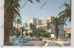 LIBIA - TRIPOLI, Grand Hotel, Mercedes-Benz, VW-Käfer, Peugeot, AGIP-Station - Libyen