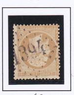 GC 1394 ENTRAYGUES SUR TRUYERES Dept 11 S / N° 21 - 1849-1876: Periodo Classico