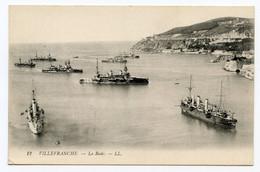 Cpa, 12. Villefranche Sur Mer. La Rade - LL /473 - Villefranche-sur-Mer