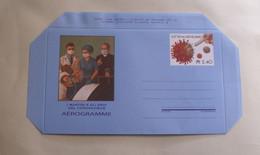 VATICAN 2020, AEROGRAMMA MARTIRI ED EROI DEL CORONAVIRUS MNH** - Enteros Postales