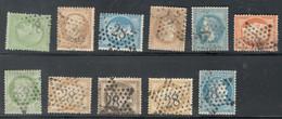 France Yvert Entre 20 Et 60 étoile 28 TB Sans Défaut Cote EUR 111 (numéro Du Lot 683O) - 1849-1876: Classic Period
