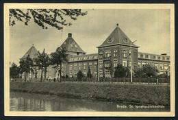 Sint Ignatiusziekenhuis - Wilhelminasingel 33 - Breda - 1955 -   Used ,2 Scans For Condition. (Originalscan !! ) - Breda