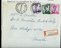 Doc. De FLEMALLE - GRANDE - B B - Du 22/09/64 En Rec. ( E ) - Landpost (Ruralpost)
