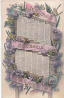 Fete Nouvel An Calendrier Année 1908 365 Jours De Bonheur Cpa Carte Fantaisie - Nouvel An