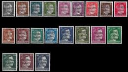 1945 Dt.Reich - LOKALAUSGABE RUMBURG (SUDETENLAND) ** Überdruck. ČSR / Národní / Výbor / Rumburk - Sudetes