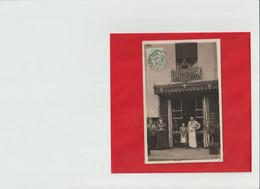 Carte Photo/  Deventure D,une Boucherie E .POIRIER /ALENCON ORNE ? Voir Scane Plie Dans Les  Angles - Otros Municipios