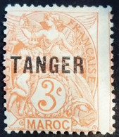Maroc Morocco 1918 Surchargé Overprinted TANGER Yvert 82 * MH - Unused Stamps