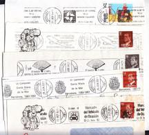 BARCELONA - 38 RODILLOS DIFERENTES EN SOBRES ENTEROS - AÑOS 1970/1980 - LOTE PARA COMENZAR COLECCIÓN Y REGALO FRONTALES - Colecciones