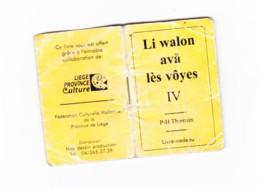 Petit Lexique De 15 Pages D'expressions -  Wallon Liégeois - Français De P-H Thomsin - Practical