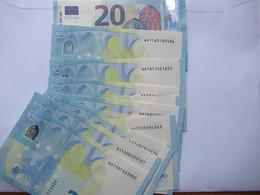 20 Euro-Schein WA Unc.Draghi, Preis Pro Schein - 20 Euro